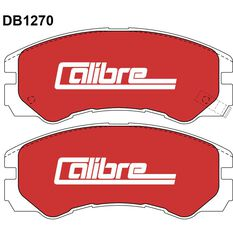Calibre Disc Brake Pads DB1270CAL, , scaau_hi-res
