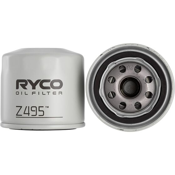 Ryco Oil Filter - Z495, , scaau_hi-res