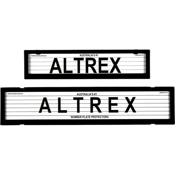 Altrex Number Plate Protector 6 Figure European Combo With Lines 6LEP, , scaau_hi-res