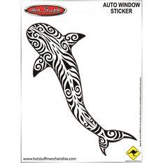 Sticker Tribal shark SH3239, , scaau_hi-res