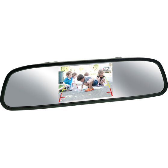 NanoCam Plus Rear View Mirrorand Camera Kit - Wired, 4.3inch, NCP-MIR43, , scaau_hi-res