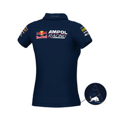 Red Bull Ampol Racing Polo Womens RBAR 8, RBAR, scaau_hi-res