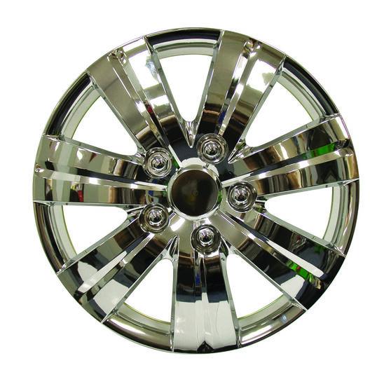 SCA Wheel Covers - Kansai 13in, Chrome, 4 Pack, , scaau_hi-res
