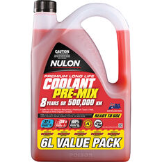 Nulon Red Premium Long Life Coolant Premix 6 Litre, , scaau_hi-res