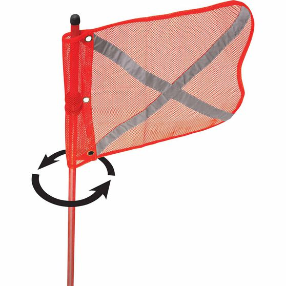 4x4Equip Safety Flag - 3m 3 Piece, , scaau_hi-res
