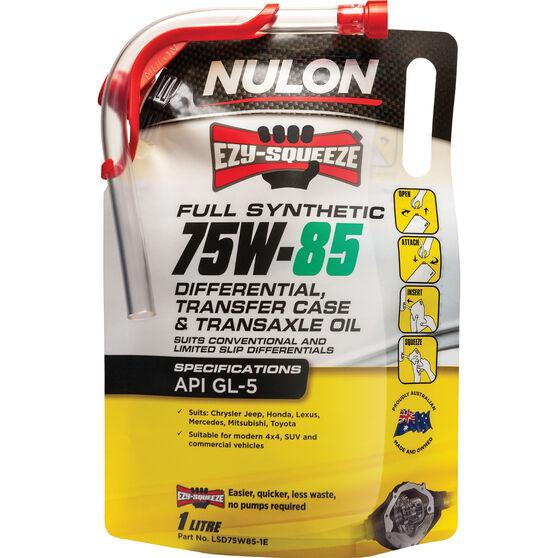 NULON EZY-SQUEEZE Differential, Transfer Case & Transaxle Oil - 75W-85, 1 Litre, , scaau_hi-res