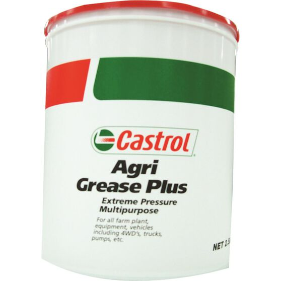 Castrol Agri Plus Grease - 2.5kg, , scaau_hi-res