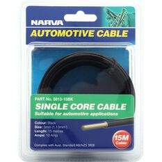 Narva Automotive Cable Single Core 10 AMP 15 Metres, , scaau_hi-res