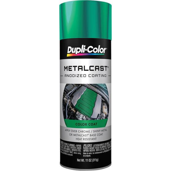 Dupli-Color Metalcast Aerosol Paint Enamel Green Anodised 311g, , scaau_hi-res