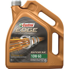 Castrol EDGE Supercar Engine Oil - 10W-60, 5 Litre, , scaau_hi-res