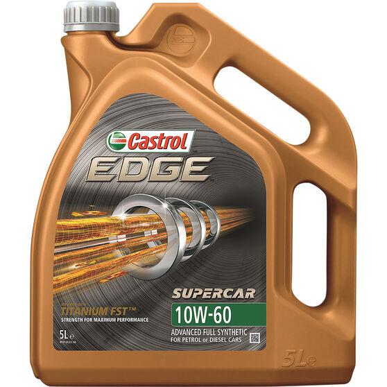 Castrol EDGE Supercar Engine Oil - 10W-60, 5 Litre, , scaau_hi-res