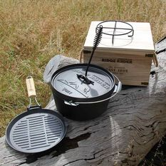 Cast Iron Cookware - 5pce, , scaau_hi-res