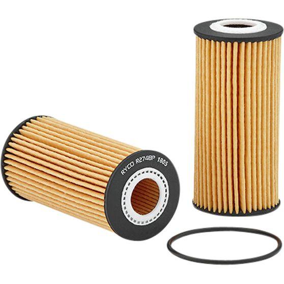 Ryco Oil Filter R2748P, , scaau_hi-res