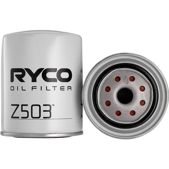 Ryco Oil Filter - Z503, , scaau_hi-res