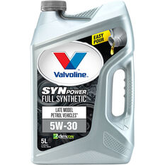 Valvoline Synpower Engine Oil 5W-30 5 Litre, , scaau_hi-res