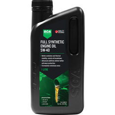 SCA Full Synthetic Engine Oil 5W-40 A3/B4 1 Litre, , scaau_hi-res