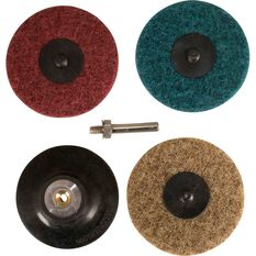 Roloc Pad & Spindle - Conditioning Discs, 75mm, , scaau_hi-res