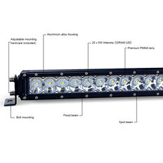 "Ridge Ryder 21"" LED Driving Light Bar 84W with harness, , scaau_hi-res"