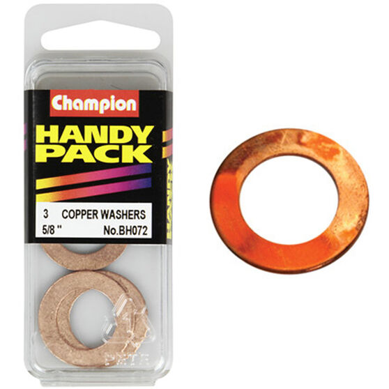 Champion Copper Washers - 5 / 8inch, Handy Pack, , scaau_hi-res