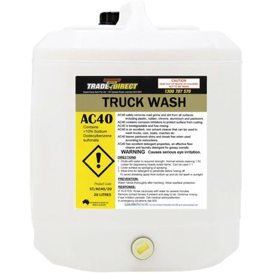 Trade Direct Truck Wash - 20 Litre ST/AC40/20, , scaau_hi-res