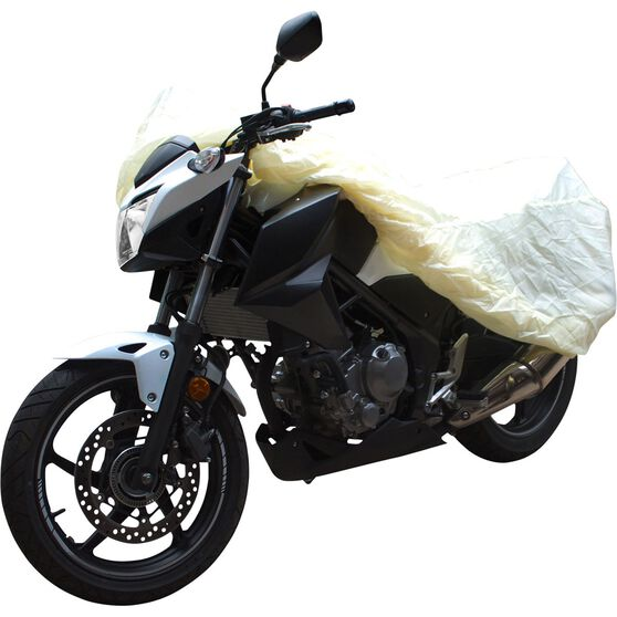 CoverALL Motorcycle Cover Bronze Protection - Small, Suits Up To 500cc, , scaau_hi-res