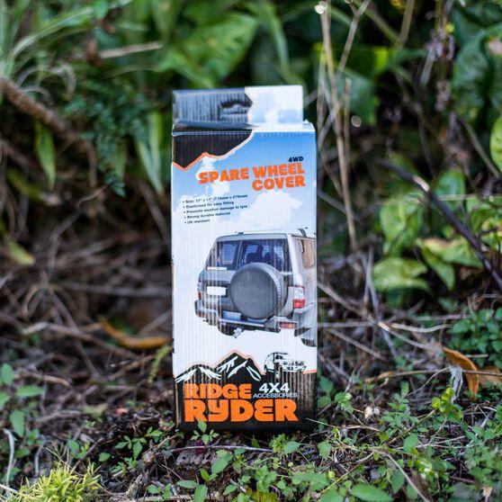 Ridge Ryder Spare Wheel Cover - Plain 31in, , scaau_hi-res