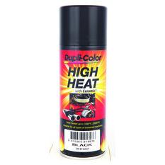 Dupli-Color Aerosol Paint - High Heat, Black, 340g, , scaau_hi-res