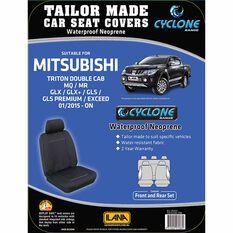 Ilana Cyclone Tailor Made Pack for Mitsubishi Triton MQ Dual Cab 01/15+, , scaau_hi-res