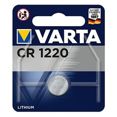 Varta Lithium Coin Battery - CR1220, 1 Pack, , scaau_hi-res