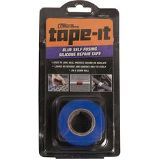 Calibre Tape-It Self-Fusing Silicone Tape - Blue, 3m x 25mm, , scaau_hi-res