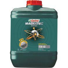 Castrol MAGNATEC Diesel Engine Oil 15W-40 10 Litre, , scaau_hi-res
