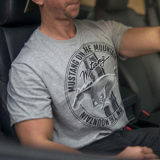 Mustang Men's T-Shirt Grey, , scaau_hi-res