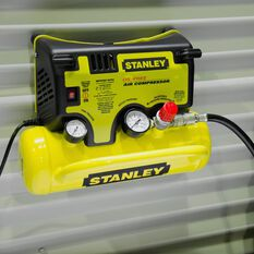 Stanley Wall Mount Air Compressor 0.5HP 14LPM, , scaau_hi-res