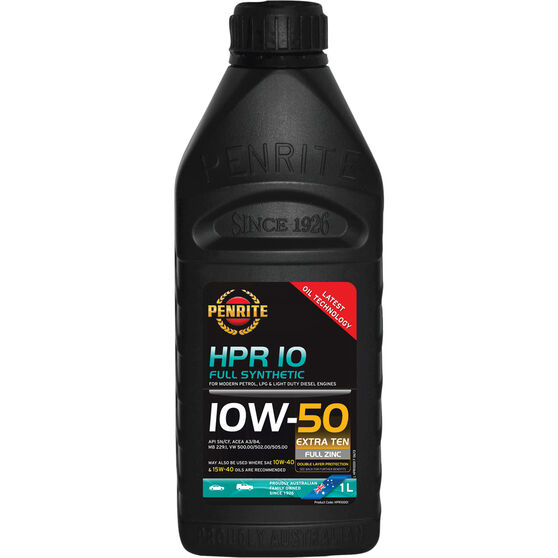 Penrite HPR 10 Engine Oil - 10W-50 1 Litre, , scaau_hi-res