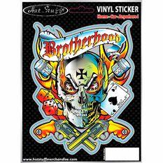 Sticker - Brotherhood, Vinyl, , scaau_hi-res