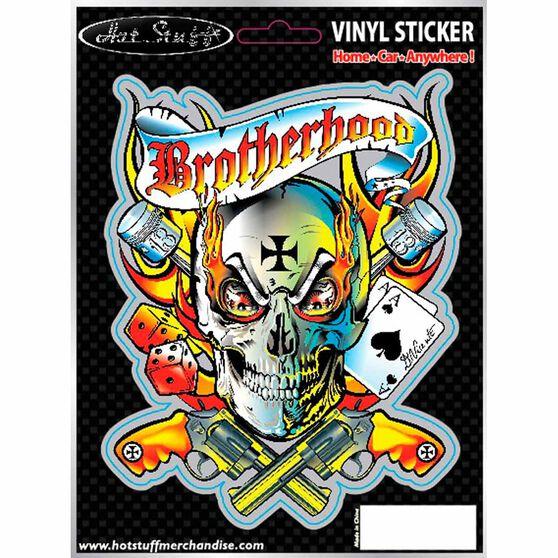 Hot Stuff Sticker - Brotherhood, Vinyl, , scaau_hi-res