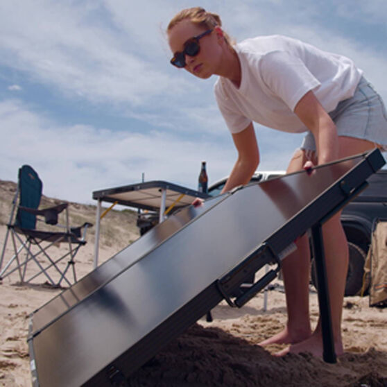Ridge Ryder Solar Battery Charger Kit 160 Watt, , scaau_hi-res