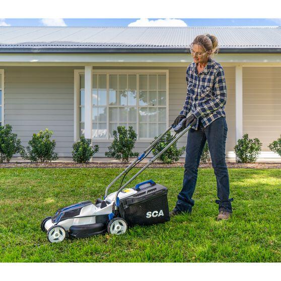SCA 36V Lawn Mower, , scaau_hi-res