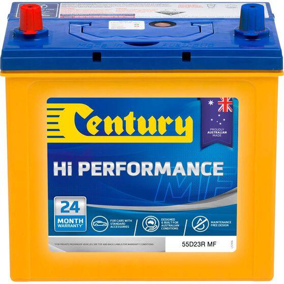 Century Hi Performance Car Battery 55D23R MF, , scaau_hi-res