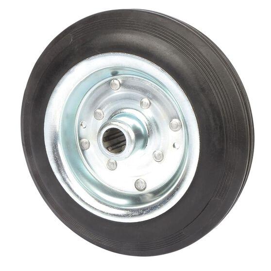 SCA Wheel Metal Rim - 200 x 45mm, Rubber, , scaau_hi-res