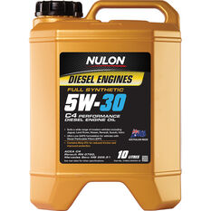 Nulon C4 Diesel Engine Oil - 5W-30 10 Litre, , scaau_hi-res