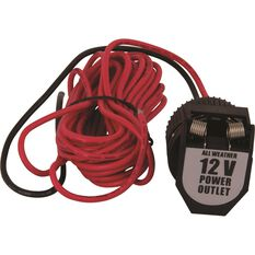 12V Socket - With Wiring, Heavy Duty, , scaau_hi-res