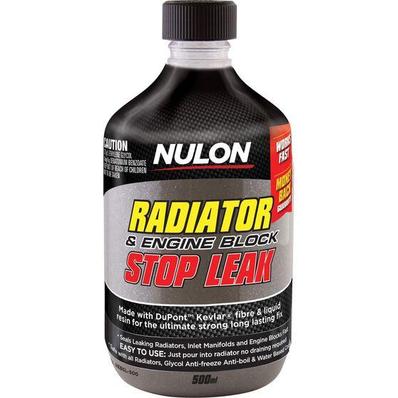 Nulon Radiator Engine Block Stop Leak 500mL, , scaau_hi-res