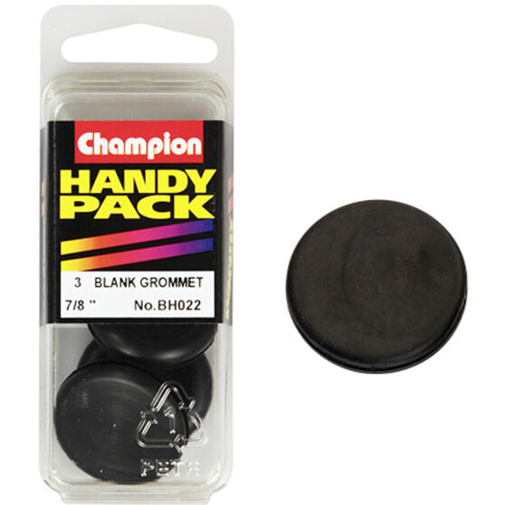 Champion Blanking Grommet - 7 / 8inch, BH022, Handy Pack, , scaau_hi-res