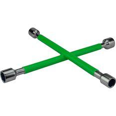 Wheel Brace, Rubber Grip, Green, , scaau_hi-res