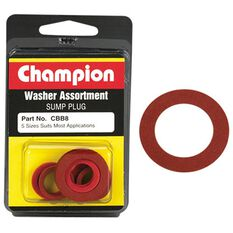 Champion Fibre Washer Assortment - CBB8, , scaau_hi-res