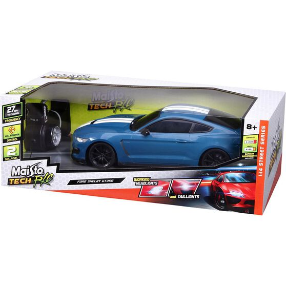 Remote Control Car - Ford Shelby GT-350, 1:14 Scale, , scaau_hi-res