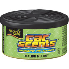 California Scents Car Scent Air Freshener - Malibu Melon, 42g, , scaau_hi-res