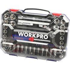 "Workpro Socket Set - 3/8"" Drive, 47 Piece, , scaau_hi-res"