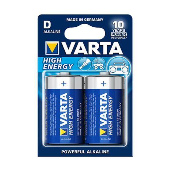 Varta High Energy Battery - D, 2 Pack, , scaau_hi-res